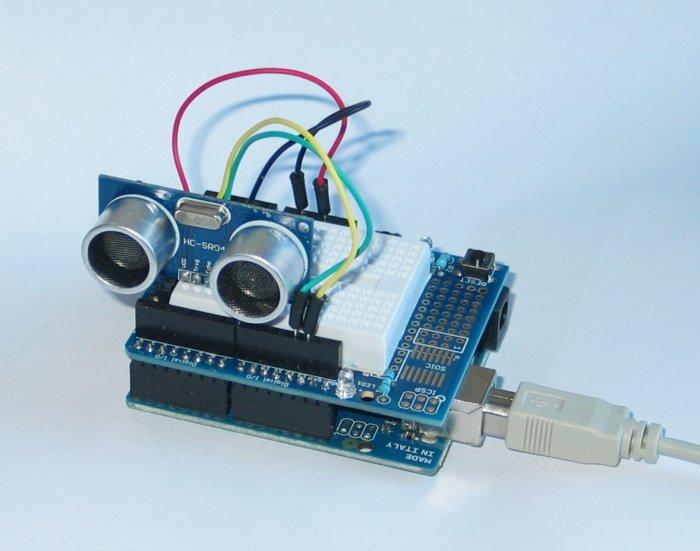 Ultraschall Entfernungsmesser Arduino : Arduino & co